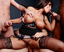 gangbang sex clips with creampies