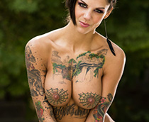 hot naked girls with tattoos