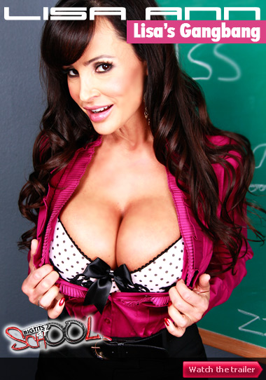 lisa ann's gangbang - watch trailer