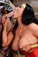 HD porn video Wonder Woman: A XXX Parody