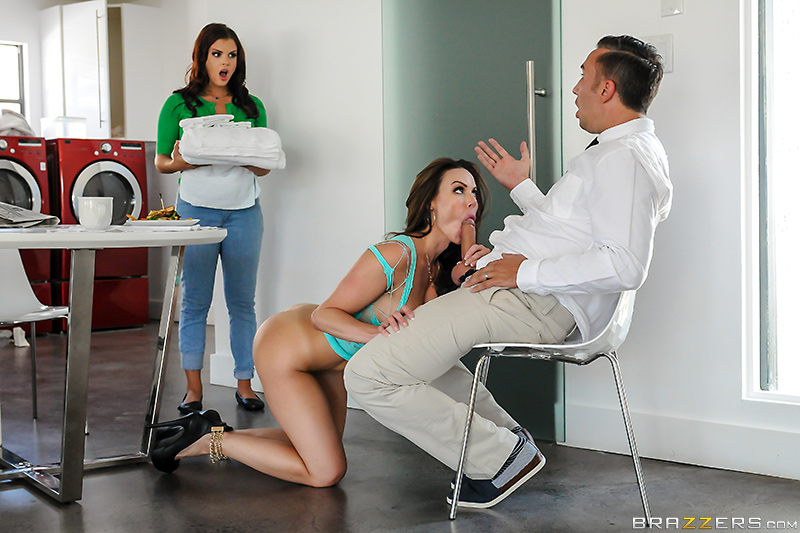 Pornstars Like It Big – Adopt A Pornstar – Keiran Lee, Kendra Lust & Keisha Grey