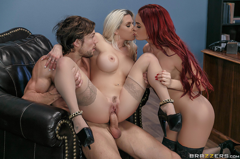 Hungry For A Job - Rachel RoXXX, Skyla Novea & Jean Val Jean