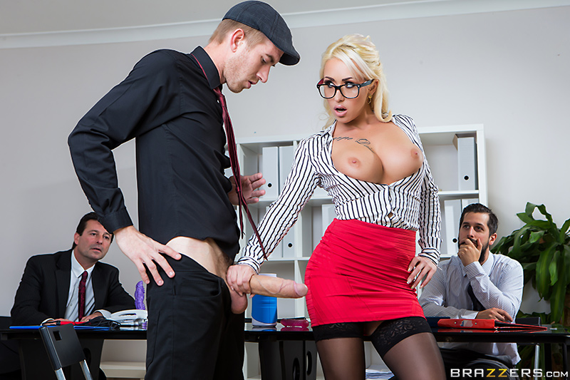 Big Tits At Work – Sales Pitch – Danny D & Christina Shine