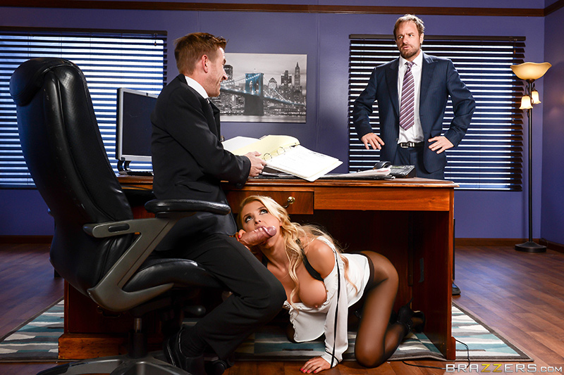 Big Tits At Work – Daddy's Hardest Worker – Danny D & Alix Lynx