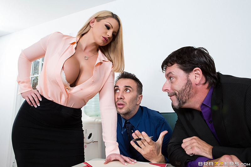 Big Tits At Work – A Case of the Moan Days – Keiran Lee & Brooklyn Chase