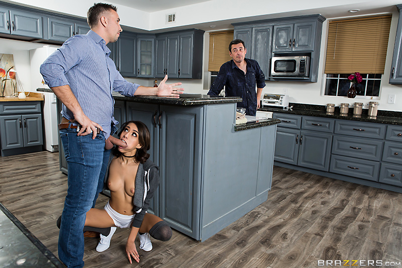 Anal Quickie With Teenie Janice! - Keiran Lee & Janice Griffith