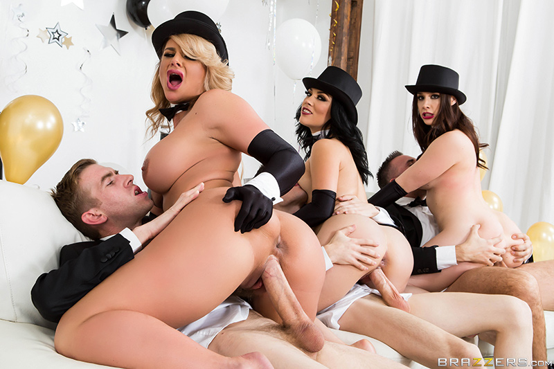 New years eve orgy