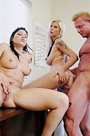 Brazzers video with Britney Stevens, Brooke Banner, Jason Daugherty
