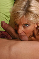 Brazzers porn movie - Blonde milf meets young cock