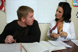 brazzers kelly divine, mia gets some help