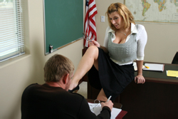 brazzers kelly divine, missed the test
