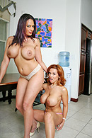 Ava Lauren, Sienna West, CJ Ryder XXX clips