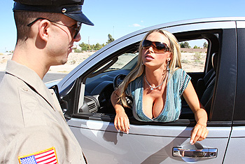 PornstarsLikeItBig.com &#8211; Nikki Benz &#8211; Traffic Violation