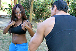 brazzers vanessa blue, self defense