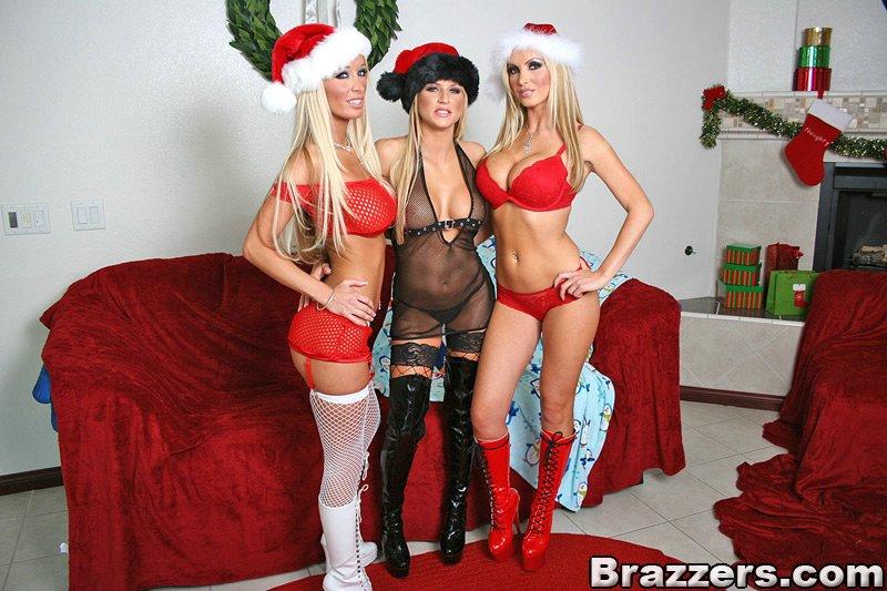 聖誕老人三飛確實猛