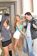 Alec Knight, August, Rachel Starr on brazzers