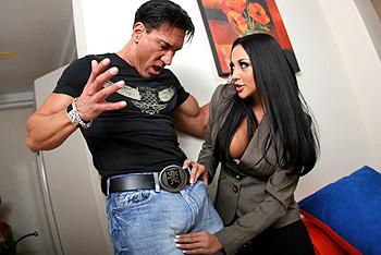 Pornstars like it big Not bad for a newbie Audrey Bitoni , Marco Banderas mpeg