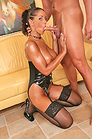 Brazzers porn movie - All Oiled Up & Nowhere To Go