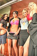 Top pornstar Abbey Brooks, Eva Angelina, Jordan Ash, Justice Young, Puma Swede, Rachel Starr
