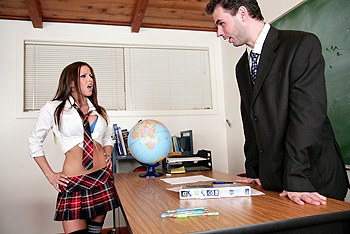 BigTitsAtSchool.com &#8211; Rachel RoXXX &#8211; Teacher gets his Roxxx off!