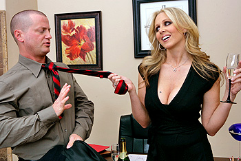 Boss big tits julia ann
