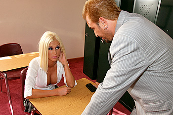 BigTitsAtSchool.com &#8211; Krystal Steal &#8211; A little Discipline