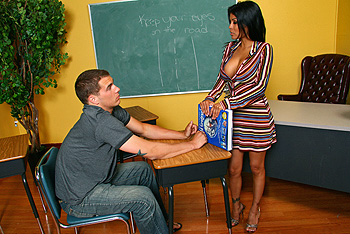 BigTitsAtSchool.com &#8211; Alexis Amore &#8211; In Class Dream&#8230;