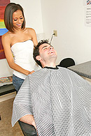 Blowjob porn video – The Barbershop's Special