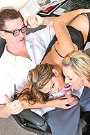 Bree Barrett, Joe Blow, Trina Michaels on brazzers