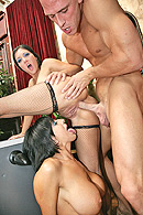 Brazzers video with Claire Dames, Johnny Sins, Ricki White