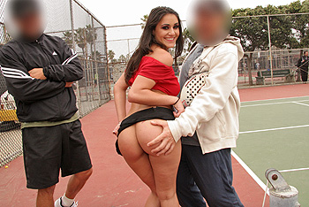Asses public videos in Brazzers free