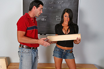 Savannah Stern Big Tits at School
