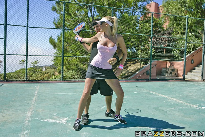nicole sheridan tennis tits