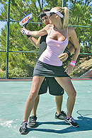 Brazzers porn movie - Tennis Tits
