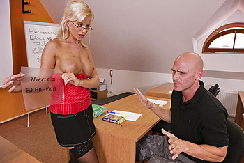 Cindy Dollar Big Tits at School