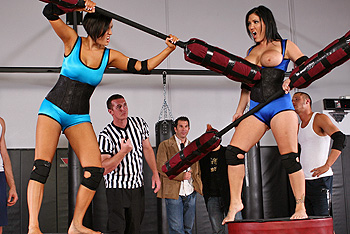 Claire Dames, Dylan Ryder big boobs video from Big Tits in Sports