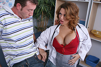 Sienna West uniform fetish video from Doctor Adventures