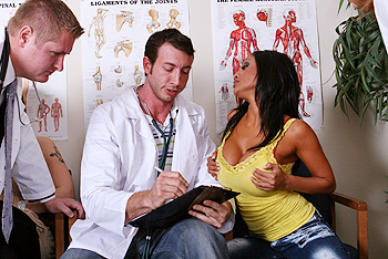 Priya Rai uniform fetish video from Doctor Adventures