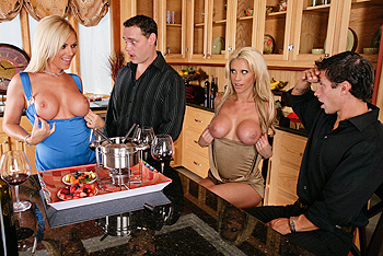 Cover: Real Wife Stories: Tanya James & Ahryan Astyn - A Cock Swapping Invitation