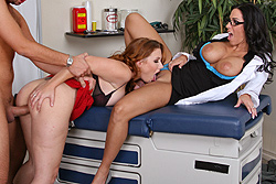 brazzers melrose foxxx, 3 way therapy