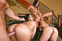 Orgy at Sienna's House