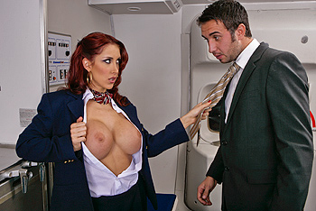 BigTitsAtWork &#8211; Kylee Strutt &#8211; Tits On A Plane Part 2
