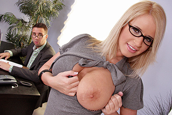 BigTitsAtWork &#8211; Madison James &#8211; Big Office Distractions