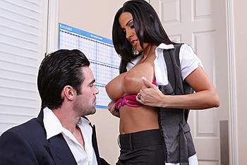 Veronica rayne big tits boss