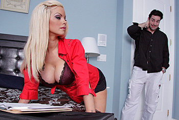 Delta White|Big Tits at Work