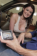 Brazzers porn movie - Use My GPS to Direct You to My Big Tits