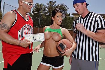 Savannah Stern big boobs video from Big Tits in Sports