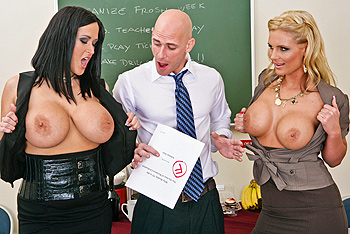 Carmella Bing, Phoenix Marie Big Tits at School