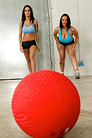 Brazzers porn movie - Dodgeballs