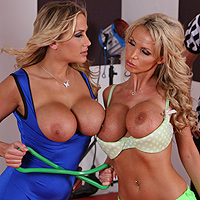 From Whip Lash To Tit Lash to Splish Splash Alanah Rae & Nikki Benz From Whip Lash To Tit Lash to Splish Splash